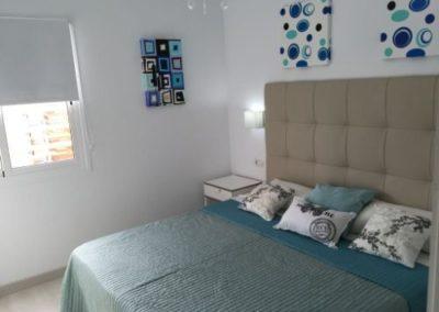 Appartement Arona Schlafzimmer