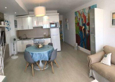 Appartement Arona Küche, Esszimmer