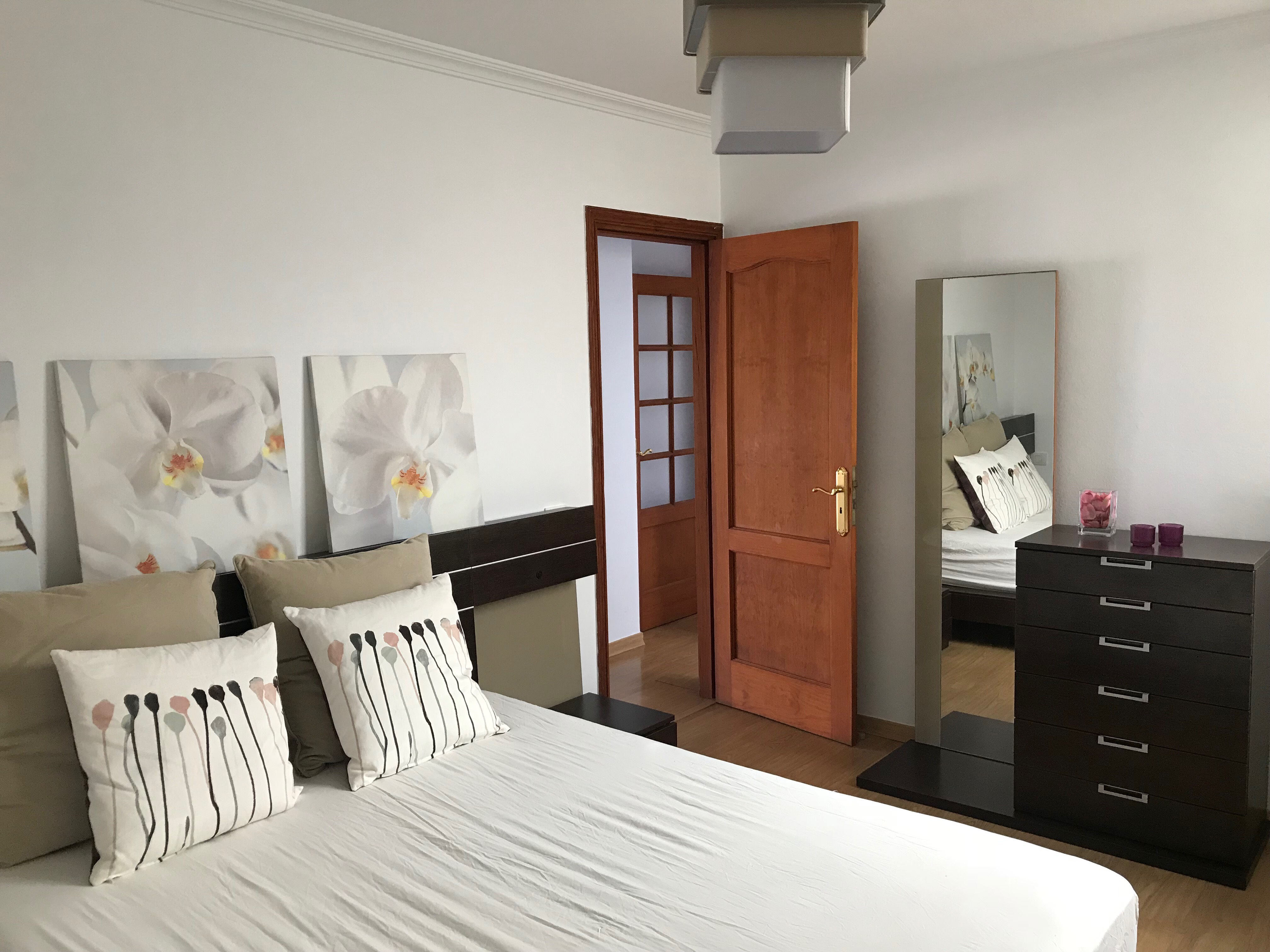Penthouse Los Cristianos Miete Schlafzimmer